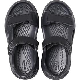 Crocs Swiftwater Expedition Sandalias Niños, black/slate grey